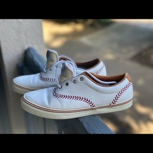 Keds Women Champion Pennant Lace Up Sneakers Sz 8